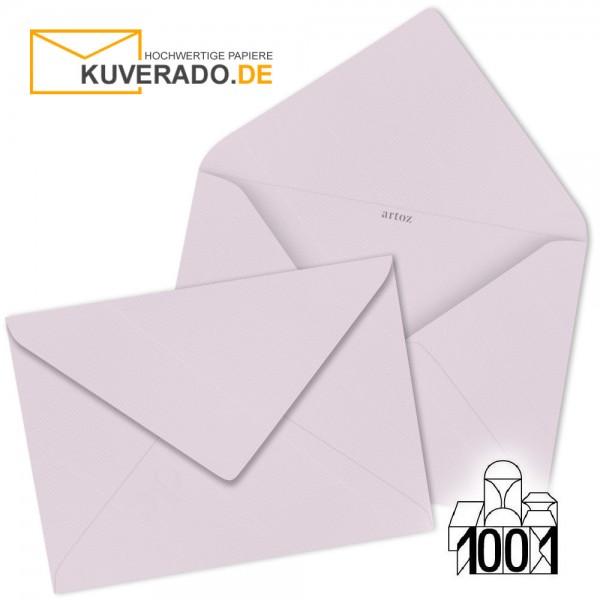 Artoz 1001 Briefumschläge quarzrosa 75x110 mm