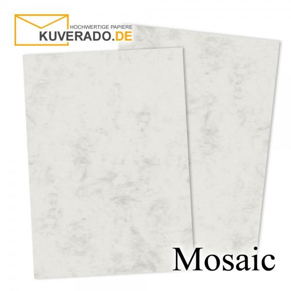 Artoz Mosaic marmorierter Briefkarton in grau DIN A4