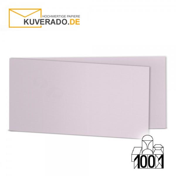 Artoz 1001 Faltkarten quarzrosa DIN lang Querformat mit Wasserzeichen