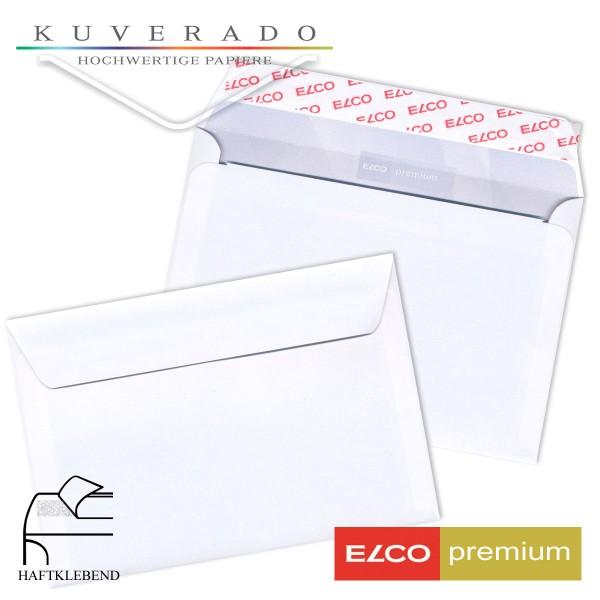 ELCO premium Briefumschläge in weiß DIN B5