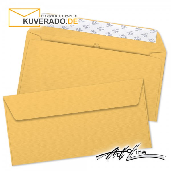 Artoz Artoline Briefumschlag in sandgold-orange DIN C6/5