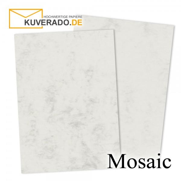 Artoz Mosaic marmoriertes Briefpapier in grau DIN A4