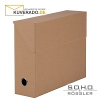 "S.O.H.O. Archivbox in der Farbe ""kraft"""