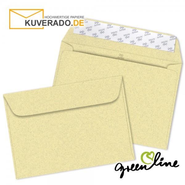 ARTOZ Greenline pastell | Recycling Briefumschläge in misty-yellow DIN C6