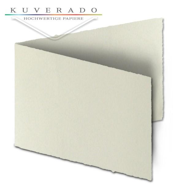 Büttenpapier Doppelkarten