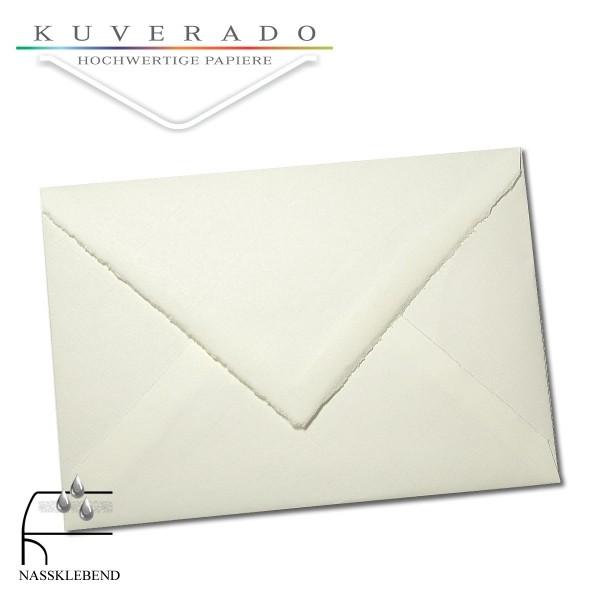 Briefumschläge aus Büttenpapier im Format DIN C5