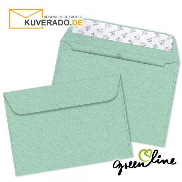 ARTOZ Greenline pastell   Recycling Briefumschläge in misty-green DIN C6