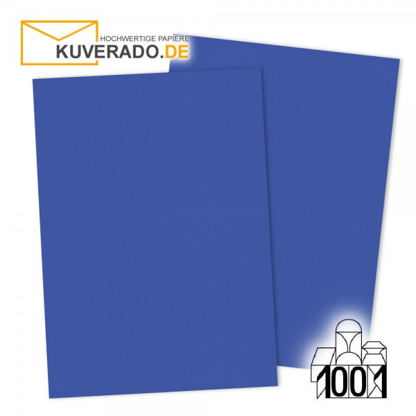Artoz 1001 Einlegekarten majestic-blue DIN A6