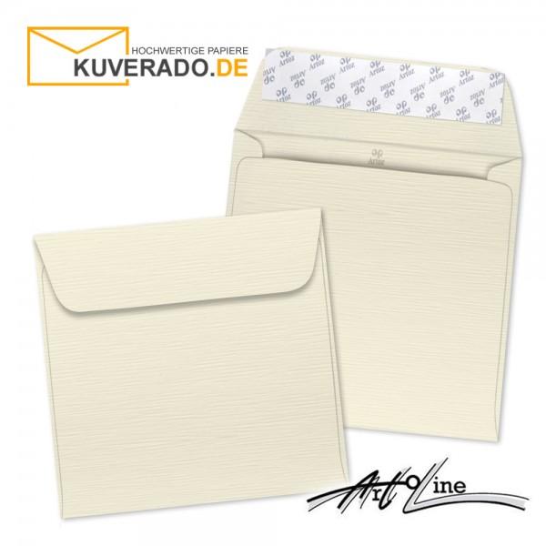 Artoz Artoline Briefumschlag in zabaione-beige quadratisch