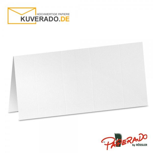 Paperado Tischkarten in weiß