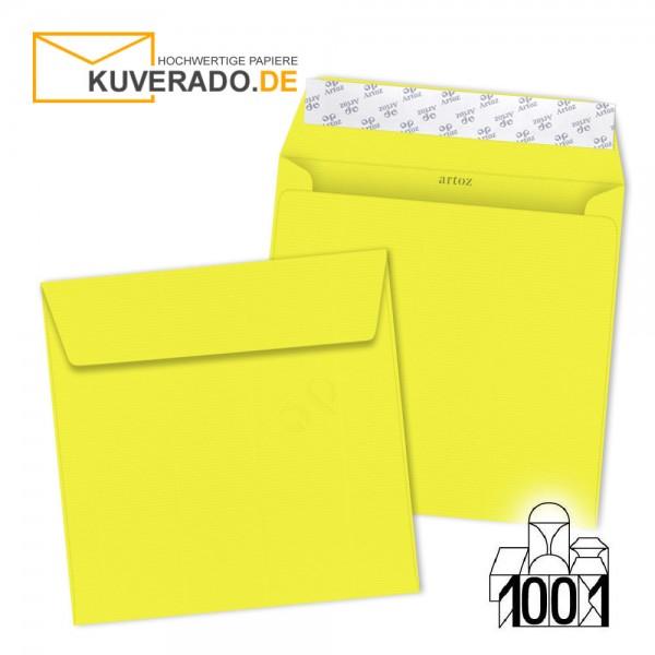 Artoz 1001 Briefumschläge maisgelb quadratisch 160x160 mm