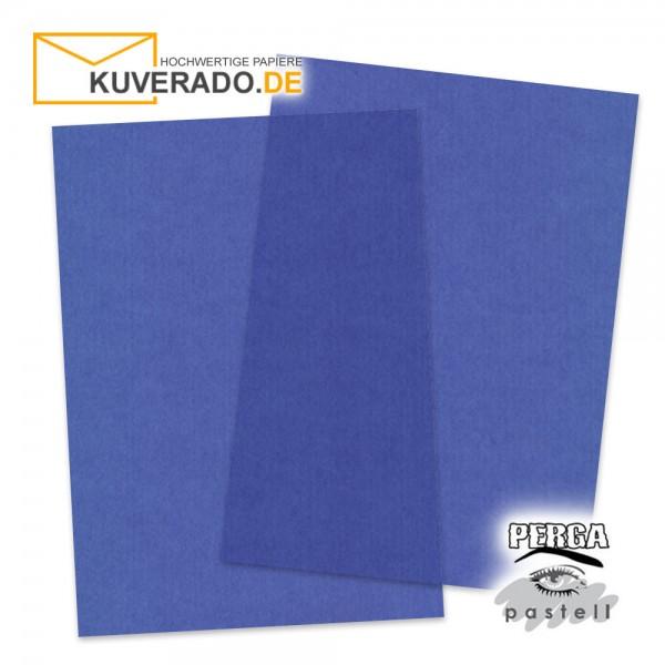 Artoz transparentes Briefpapier blau DIN A4