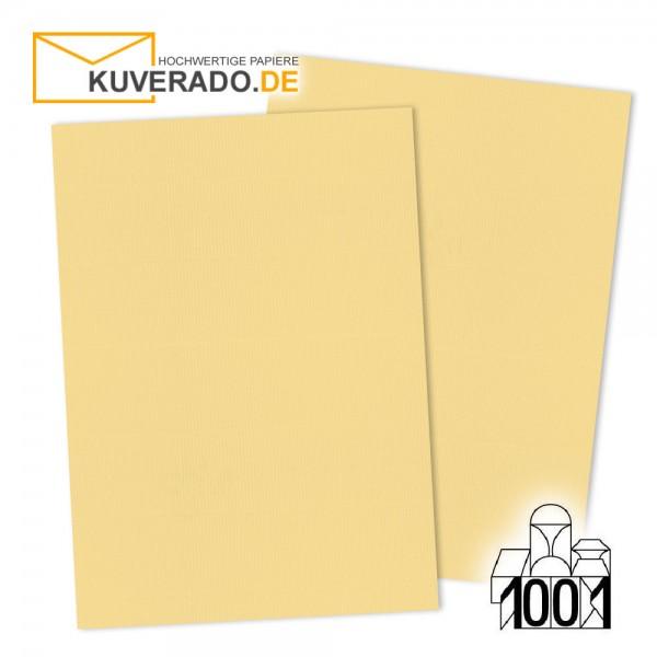 Artoz 1001 Briefkarton honiggelb DIN A4 mit Wasserzeichen