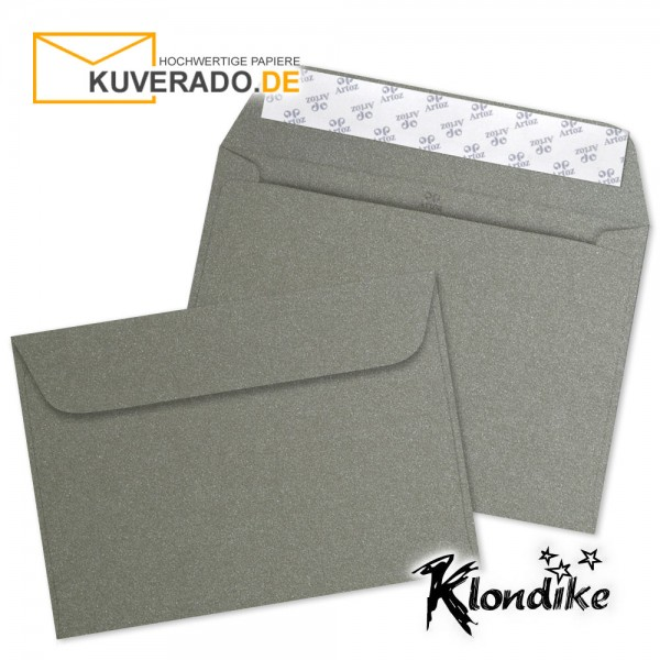 Artoz Klondike Briefumschlag in turmalin-metallic DIN C5