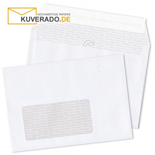MAILdigital DIN C6 Briefumschläge haftklebend mit Adressfenster