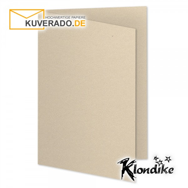 Artoz Klondike Karten in titan-metallic DIN E6