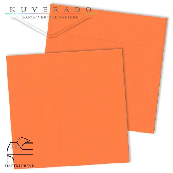 orange Briefumschläge quadratisch
