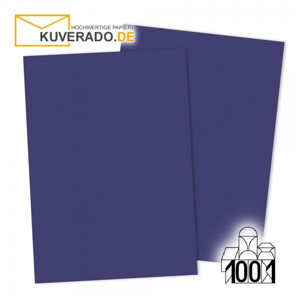 Artoz Briefpapier indigoblau DIN A4 mit Wasserzeichen