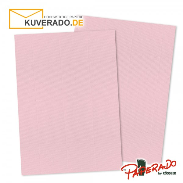 Paperado Briefpapier in flamingo rosa DIN A4 160 g/qm