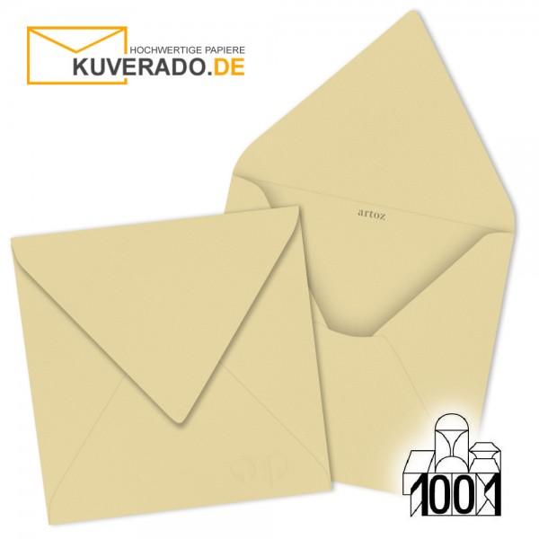Artoz 1001 Briefumschläge baileys-beige quadratisch 135x135 mm