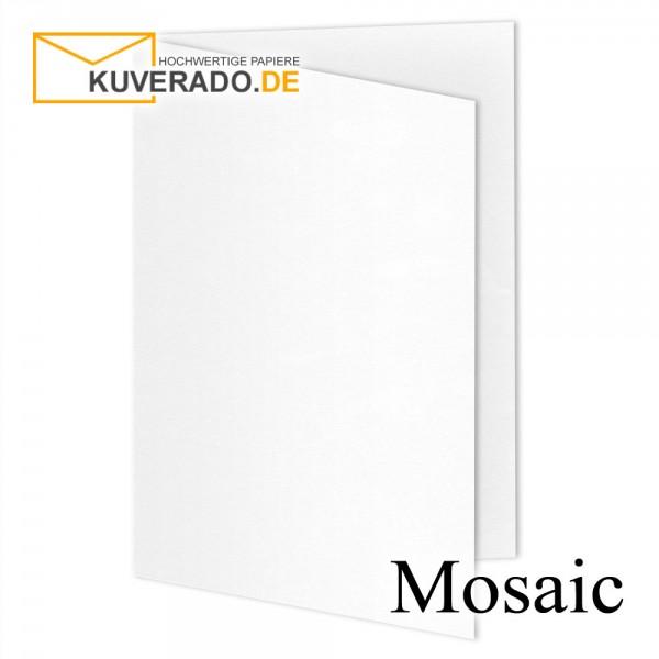 Artoz Mosaic weiße Doppelkarten DIN A5