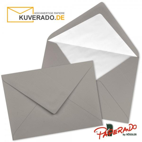 Paperado Briefumschläge in taupe grau 157x225 mm