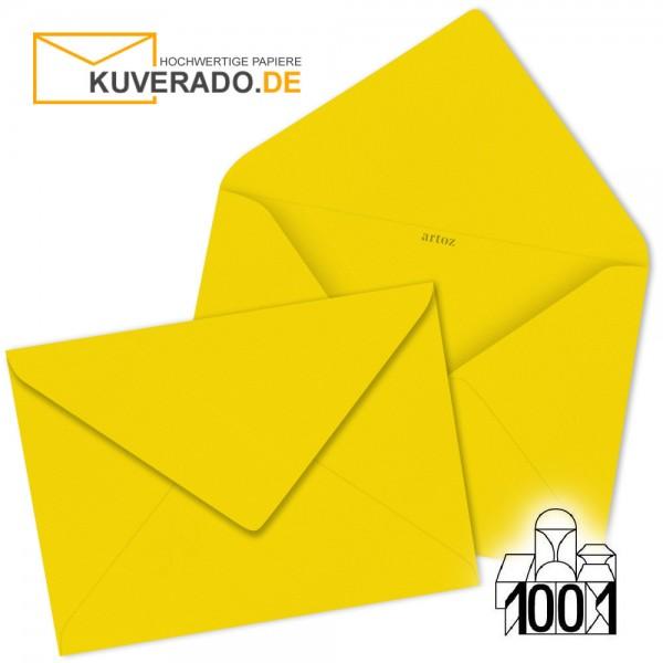 Artoz 1001 Briefumschläge sonnengelb 135x191 mm