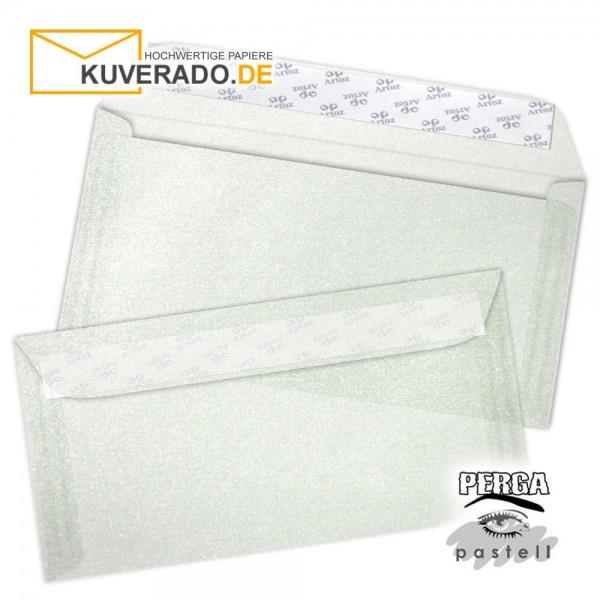 Artoz transparente Briefumschläge silber 114x224 mm