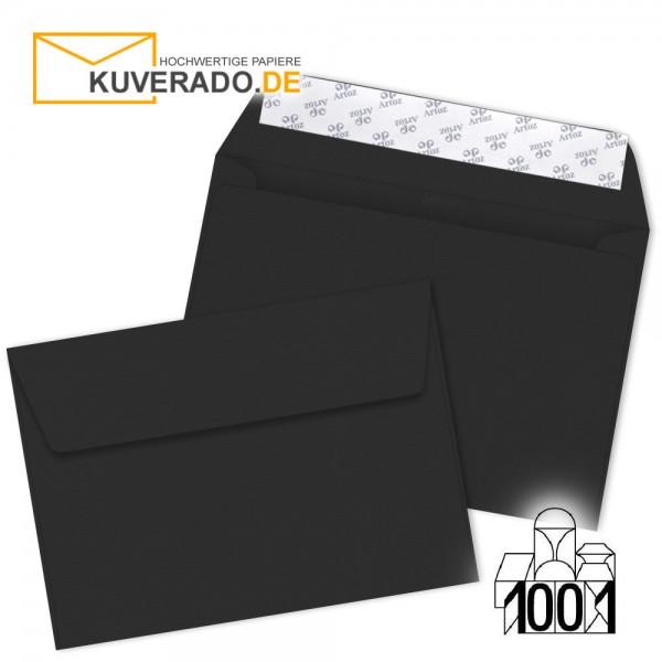 Artoz Briefumschläge schwarz DIN C6