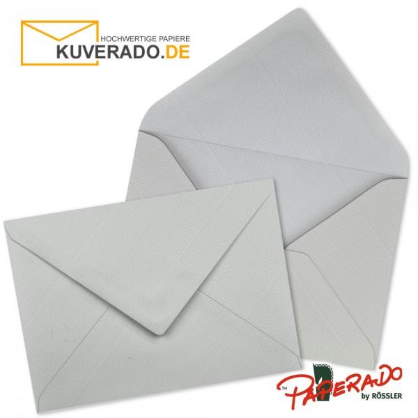 Paperado Briefumschläge in eisgrau 225x315 mm