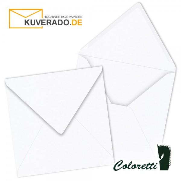 Weiße Briefumschläge in quadratisch von Coloretti