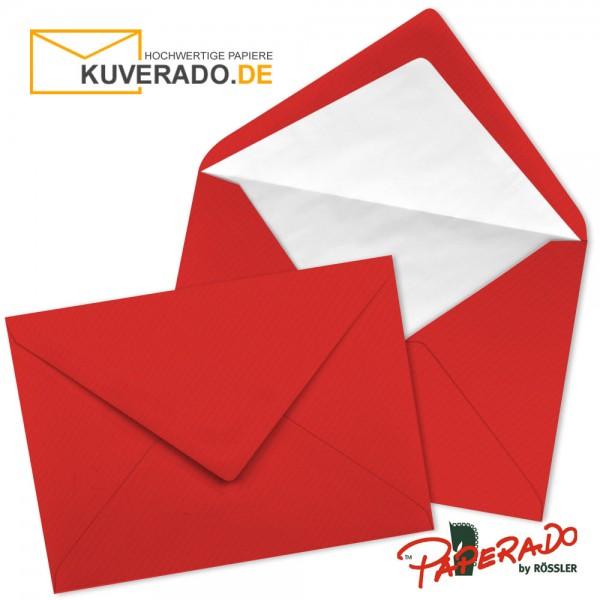 Paperado Briefumschläge in tomate rot DIN C7