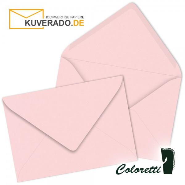 Rosa DIN C6 Briefumschläge von Coloretti
