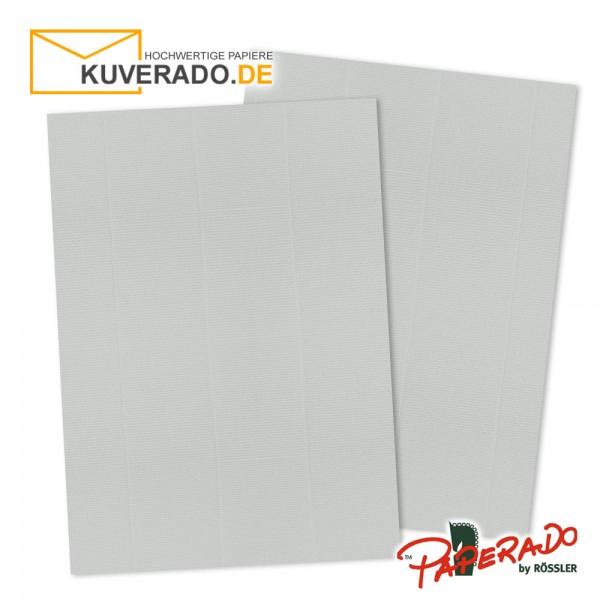 Paperado Briefpapier in eisgrau DIN A4 160 g/qm