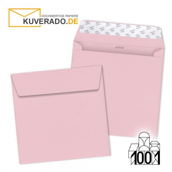 Artoz Briefumschläge kirschblüten rosa quadratisch 160x160 mm