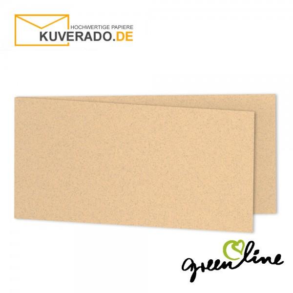 ARTOZ Greenline pastell | Recycling Faltkarten in misty-melon DIN lang