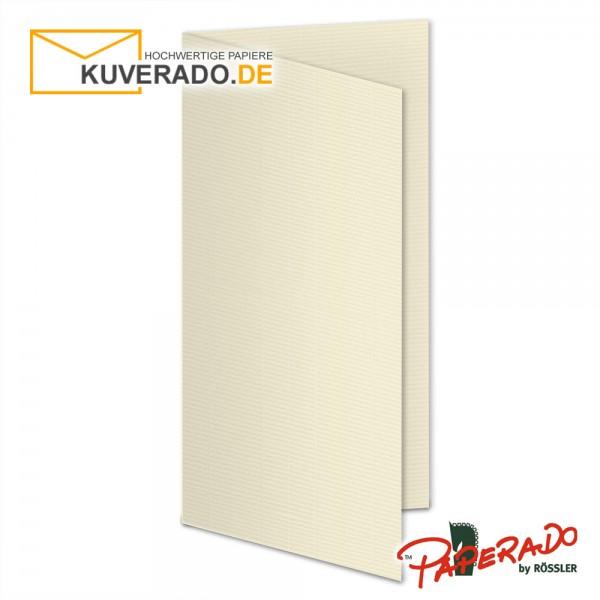 Paperado Karten in chamois beige DIN lang