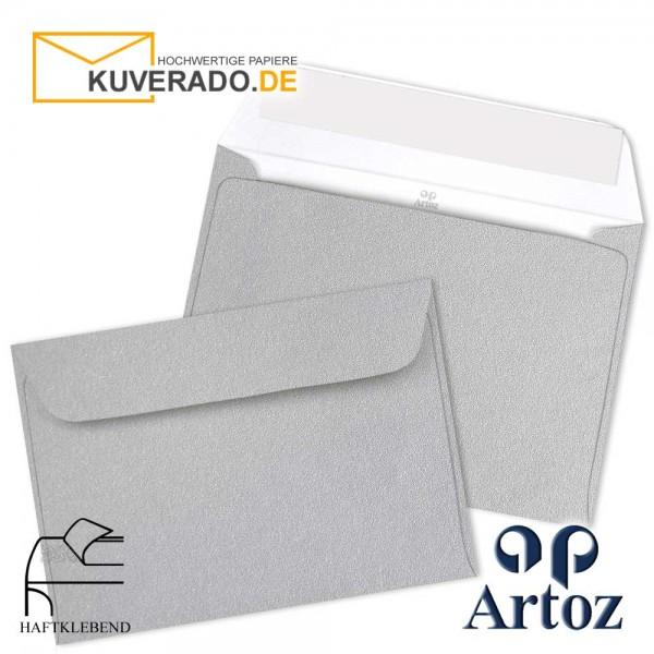 Artoz Mosaic metallic Briefumschläge in silber DIN C5