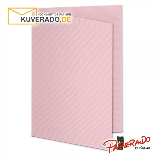 Paperado Karten in flamingo rosa DIN A5