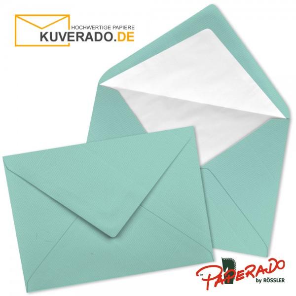 Paperado Briefumschläge in karibik blau DIN C7