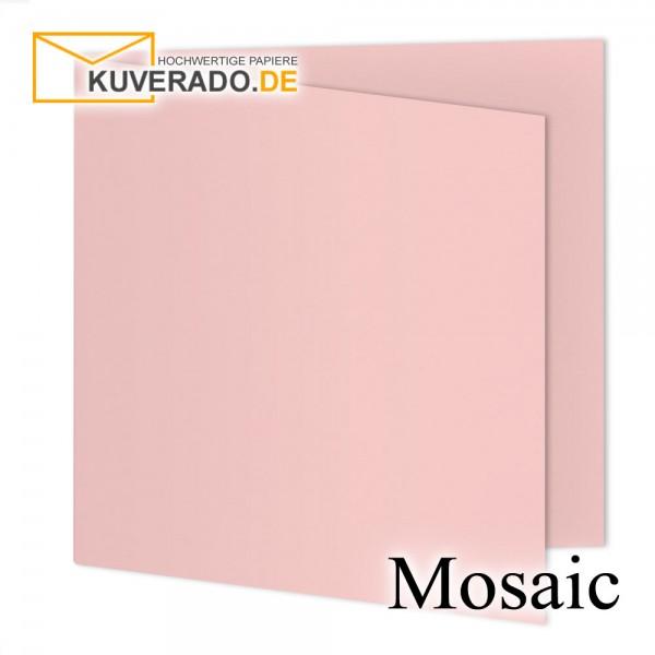 Artoz Mosaic rosa Doppelkarten quadratisch