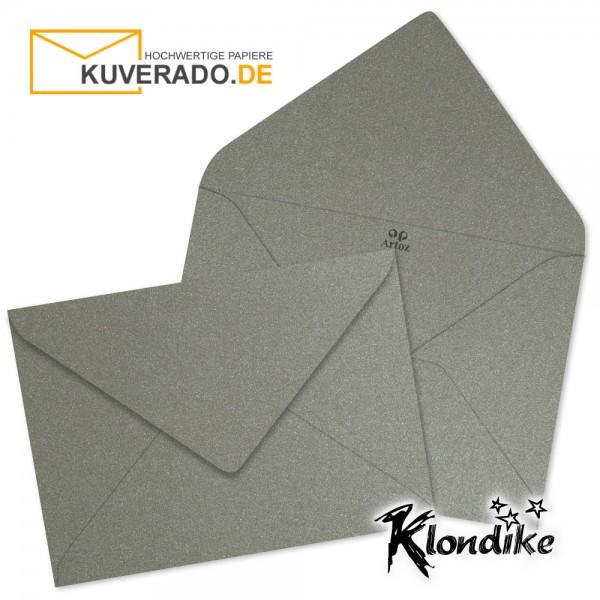 Artoz Klondike Briefumschlag in turmalin-metallic DIN B6