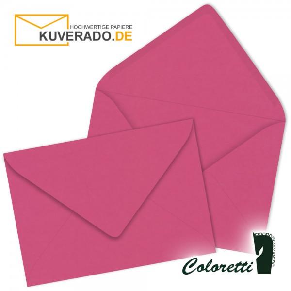 Rosa DIN C6 Briefumschläge in pink von Coloretti