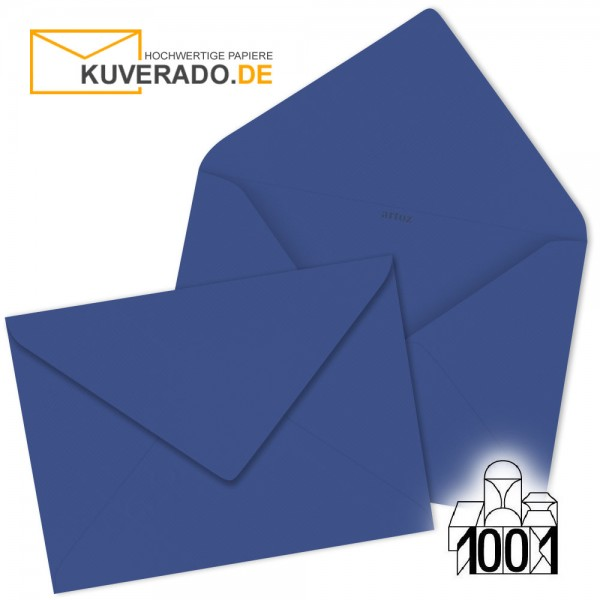 Artoz 1001 Briefumschläge royalblau 75x110 mm
