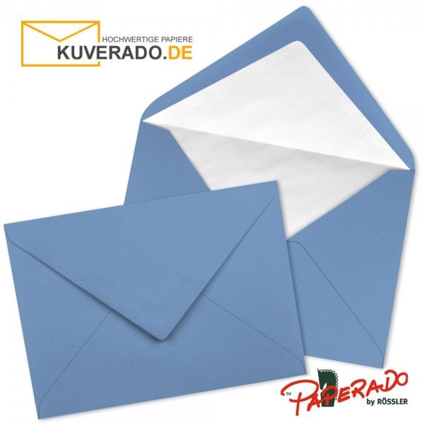 Paperado Briefumschläge in blau DIN C7