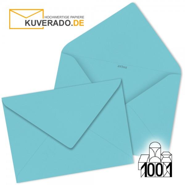 Artoz 1001 Briefumschläge türkisblau 135x191 mm