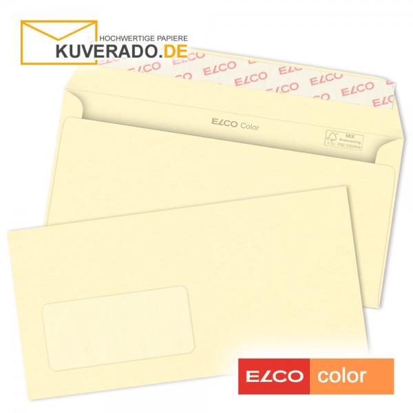 cremefarbene Briefumschläge DIN C6/5 mit Fenster
