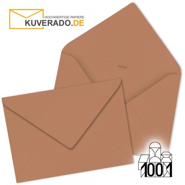 Artoz Briefumschläge copper-braun 135x191 mm