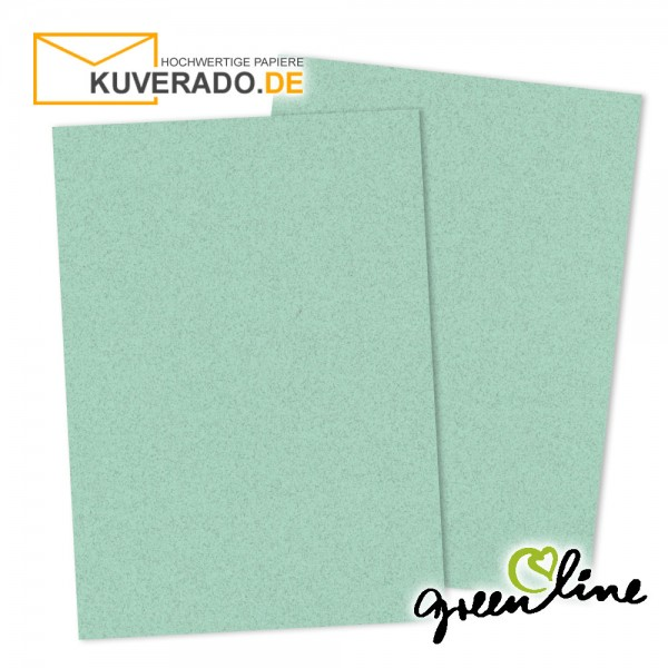 ARTOZ Greenline pastell | Recycling Briefpapier in misty-green DIN A4