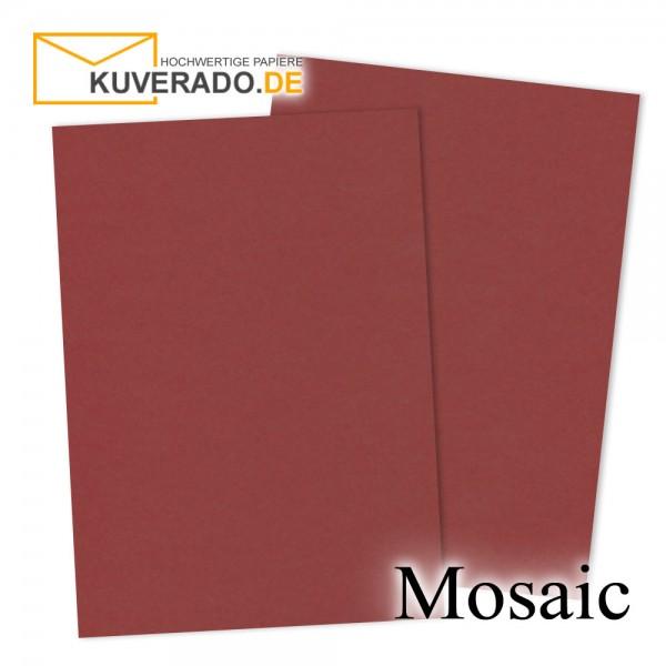 Artoz Mosaic weinroter Briefkarton DIN A4